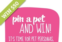 Pin a Pet & WIN Contest / It's time for pet personas. The contest that lets pets show their true selves! Inspired by the Zelda Wisdom cards line on Cardstore!