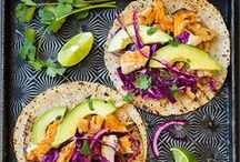 TACOS / Because there is nothing better than tacos! My favorite savory (and sweet) taco recipes!