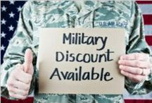 Military Discounts / Are you looking for military discounts, deals and freebies? Look no further! Are you looking to offer a military discount, deal or freebie? Contact info@usmclife.com to have your offer featured on our website www.USMCLife.com and shared on Pinterest and Twitter!  / by USMC Life