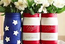 Leave: Fourth of July / Marine families celebrate Independence Day with red, white and blue! Here is a collection of patriotic recipes, party decorations and fun 4th of July crafts & care packages!  / by USMC Life