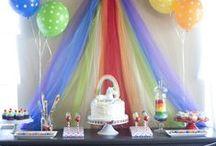 Rainbow Birthday / by Mom on A Line