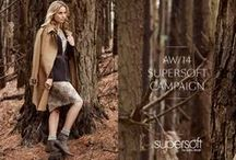 Supersoft by Diana Ferrari AW14 Campaign