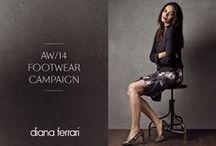 Diana Ferrari Footwear AW14 Campaign
