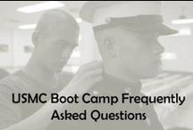 Boot Camp for Marines / From Drill Instructors to Recruit Training, you can find advice and information on joining the United States Marine Corps, including what to expect and frequently asked questions (FAQs). / by USMC Life