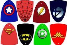 Mason's Super Hero party