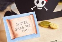 Pirate Birthday Party Inspiration / by Cardstore