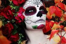 DIA DE LOS MUERTOS / costumes, recipes, crafts, and ideas for Dia de Los Muertos