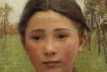 1865-1895 faces & portraits