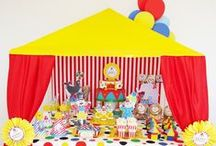 Carnival Circus Fairground Birthday Party Ideas / Carnival Circus Fairground Birthday Party Ideas and Inspiration / by Bird's Party