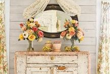 Shabby Chic / Vintage and shabby chic decor inspiration for home and parties