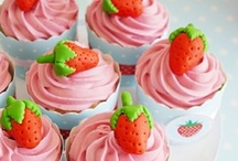 Strawberries Party Ideas / Strawberries inspired summer or picnic party ideas with supplies, printables, decorations and DIY for birthdays, showers, baby showers, school events, holidays, weddings or parties / by Bird's Party