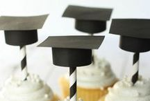 Graduation Party Ideas / Graduation party ideas with supplies, printables, decorations and DIY for birthdays, showers, baby showers, school events, holidays, weddings or parties