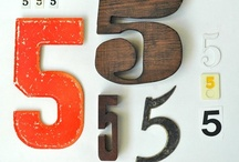 My Lucky Number ❺ / Lucky # 5 / by Stephanie Smith