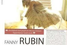 Press review about me / by Signé Fanny