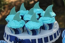 Shark Party Ideas / Shark party ideas, perfect for Spring parties, weddings, birthdays, showers and holidays