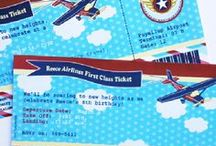 Airplane Birthday Party Ideas / Airplane party ideas with supplies, printables, decorations and DIY for birthdays, showers, baby showers, school events, holidays, weddings or parties