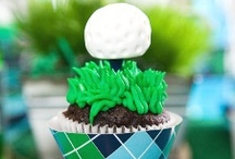 Golf Themed Party / Golf Inpsired party ideas with supplies, printables, decorations and DIY for birthdays, showers, baby showers, school events, holidays, weddings or parties / by Bird's Party
