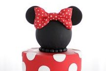 Mickey & Minnie Inspired Party / Mickey Mouse & Minnie inspired party ideas with supplies, printables, decorations and DIY for birthdays, showers, baby showers, school events, holidays, weddings or parties / by Bird's Party