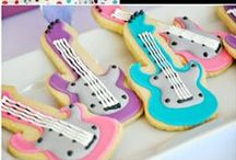 Pop Diva Rock Star Party Ideas / Pop diva rock star, music inspired by American Idol party ideas with supplies, printables, decorations and DIY for birthdays, showers, baby showers, school events, holidays, weddings or parties / by Bird's Party