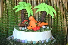Dinosaur Birthday Party Ideas / Dinosaur Birthday Party Ideas with recipes, DIY crafts and decorations, party favors, printables and more, for birthdays, baby showers, weddings and bridal showers, family or classroom events! / by Bird's Party