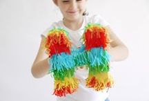 Pinata Birthday / Mexican Fiesta Party Ideas / Pinata, Mexican Fiesta and Cinco de Mayo party ideas with supplies, printables, decorations and DIY for birthdays, showers, baby showers, school events, holidays, weddings or parties / by Bird's Party