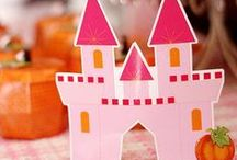 Pumpkin Princess Party Ideas / Pumpkin princess party ideas with supplies, printables, decorations and DIY for birthdays, showers, baby showers, school events, holidays, weddings or parties