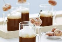 Hot Cocoa Bar + Marshmallows / Hot Cocoa Bar and Marshallows Recipes Party Styling Ideas / by Bird's Party