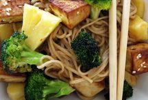 foodie: noodles + rice