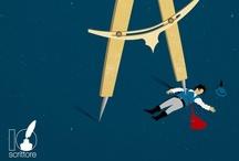 """IoScrittore / Le copertine only digital di Riccardo Gola per Io Scrittore, il progetto editoriale di scouting innovativo promosso dal gruppo GEMS: su uno sfondo omogeneo si staglia un unico oggetto grafico importante, che resta definito anche in formato """"francobollo""""."""