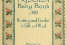 Old Crochet, Sewing and Craft Books