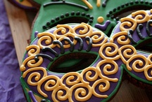 Mardi Gras - Carnaval / Mardi Gras or Brazilian carnaval party ideas with supplies, printables, decorations and DIY for birthdays, showers, baby showers, school events, holidays, weddings or parties