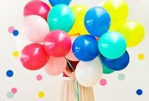 Balloons / All about party balloons and crafts and party ideas using latex and round party balloons for weddings, photography photo shoots and photo booths, birthdays and parties! / by Bird's Party