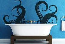 dream house: shower + bath