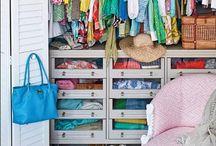 dream house: closets