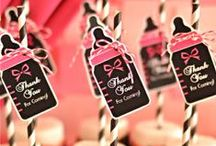 Baby Shower Inspiration and Ideas / Baby shower party ideas, decorations, food, desserts tables and party games and activities for babay showers / by Bird's Party