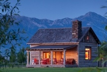 That Log Cabin in the Mountains  / A dream of mine is to own a cute little cabin up in the mountains.