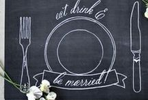 Chalkboard Love / Chalkboard decorations, party ideas, styling, printables and crafts
