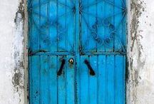 "Travel: Doors. Do You Dare Enter? / ""Do you dare to go out, do you dare to stay in?"" Dr. Seuss.   Some windows, etc."