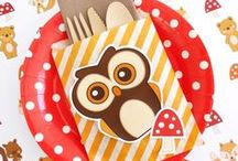 Owl Themed Party Ideas / Owl themed party ideas with supplies, printables, decorations and DIY for birthdays, showers, baby showers, school events, holidays, weddings or parties