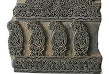 Paisley / The design motif known as paisley in the west is taken from the Persian word Boteh. / by A~H