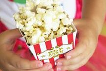 Popcorn Bar / Popcorn and Popcorn Bar Ideas for any party or event!