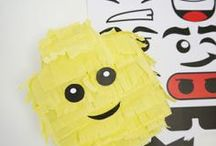 Lego Party Ideas / Lego Inspired party ideas, perfect for Spring parties, weddings, birthdays, showers and holidays