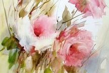 Art - Painting - Watercolor / Watercolor, acvarell pictures ❈ Thank you for following me!! ❈