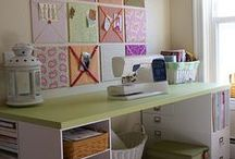 Craft Room / craft room ideas / by Lisa Benson