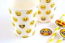 Emoji Party Ideas / Emoji party ideas, decorations, crafts, outfits, food recipes and more for your emoji themed party!