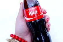 Coca-Cola #ShareaCokeContest / Summer party ideas by @birdsparty in partnership with  Coca-Cola®  / by Bird's Party