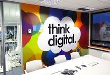 Creative Office Designs / Smart and creative Offices around the world just like #knackmap