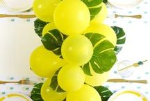 Pineapple Party Ideas / Creative party ideas, party DIY and crafts, party recipes, favors and eye candy to help inspire your next party or pineapple themed celebrations! Get the PRINTABLES here: http://www.birdsparty.com/pineapple-birthday-party-printables-supplies.html