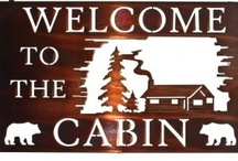 Cabin & Camping Ideas / Cabin inspiration, stuff to build for our cabin, camping/outdoor activities