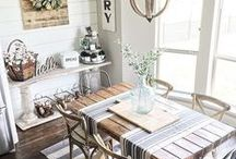 HOME / Homes and spaces I love, and decor ideas